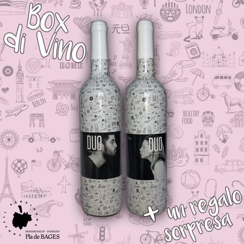 botellas de vino con denominación de origen para regalar