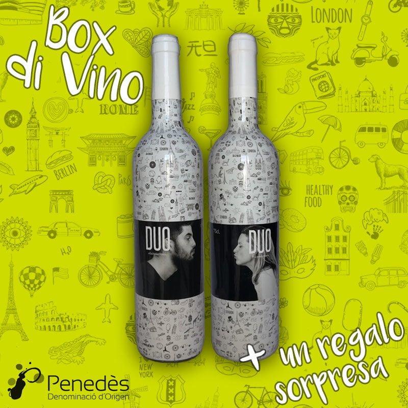 botellas de vino blanco con denominación de origen penedes para regalar en ocasiones especiales