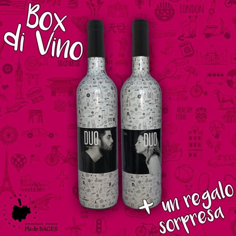 botellas de vino tinto para regalar con denominación de origen protegida
