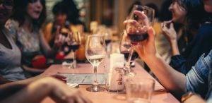 juego de la botella de vino