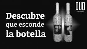 descubre botella vino duo